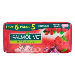 Kit Sabonete em Barra Palmolive Naturals Segredo Sedutor 85g 6 Unidades