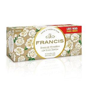 Kit Sabonete em Barra Francis Rosas De Versailles 90g 5 Unidades