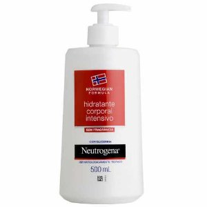 Hidratante Intensivo Neutrogena Norwegian sem Fragância 500ml