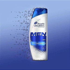 Shampoo De Cuidados Com A Raíz Head & Shoulders Men 3 Em 1 400ml