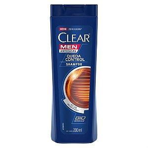 Shampoo Anticaspa Clear Men Queda Control 200ml
