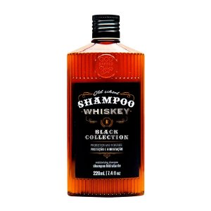 Shampoo QOD Barber Shop Whiskey Cabelo e Barba 220ml