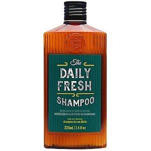 Shampoo QOD Barber Shop Daily Fresh Cabelo e Barba 220ml