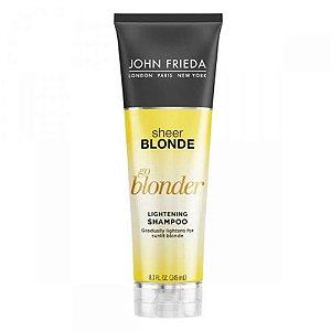 Shampoo John Frieda Sheer Blonde Go Blonder Lightening 245ml