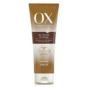 Shampoo OX Oils Nutrição Intensa 200ml