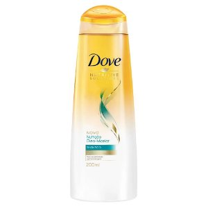 Shampoo Dove Nutrição Óleo Micelar 200ml