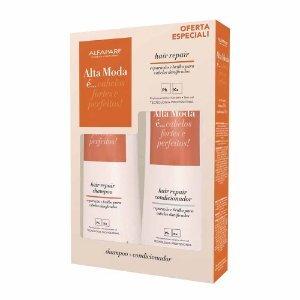 Kit Alta Moda Hair Repair Shampoo + Condicionador 300ml