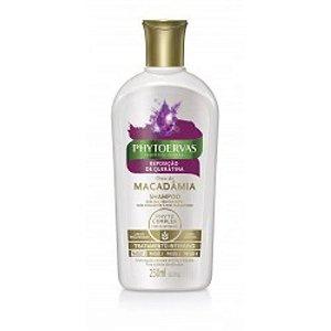 Shampoo Phytoervas Reposição De Queratina 250ml