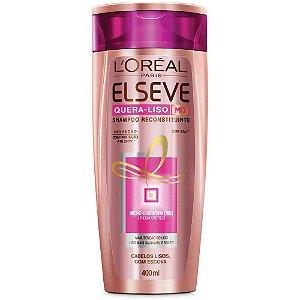Shampoo Elseve Quera-liso Reconstituinte 400ml