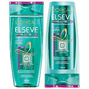 Kit Elseve Hydra Detox 48h Antioleosidade Shampoo + Condicionador 200ml
