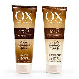 Kit OX Nutrição Intensa Shampoo + Condicionador 200ml