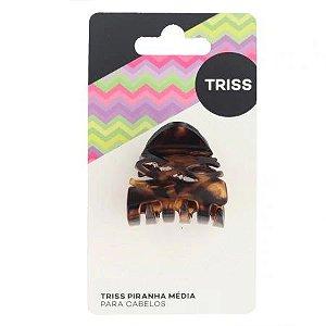 Piranha para Cabelos Triss Tartaruga Média