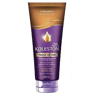 Tratamento Condicionador Koleston com Toque de Cor Caramelo