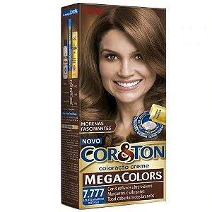 Tintura Cor&Ton Niely 7.777 Marrom Caramelo