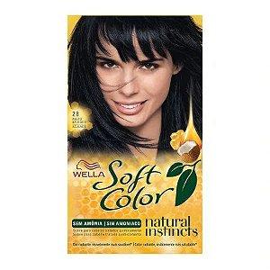 Coloração Wella Soft Color Nº28 Preto Azulado