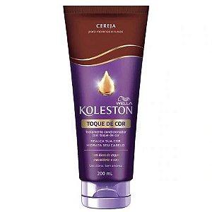 Tratamento Condicionador Koleston com Toque de Cor Cereja