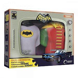 Kit Shampoo + Condicionador Batman Teens