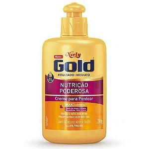 Creme para Pentear Niely Gold Nutrição Poderosa
