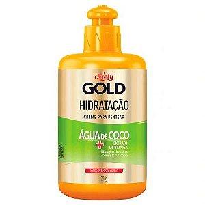 Creme de Pentear Niely Gold Hidratação Água de Coco