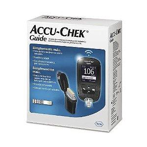 Kit Medidor de Glicemia Accu-chek Guide
