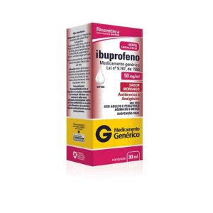 Ibuprofeno 50mg Gotas 30ml Aché Genérico