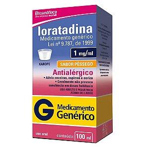 Loratadina 1mg Xarope 100ml Aché Genérico
