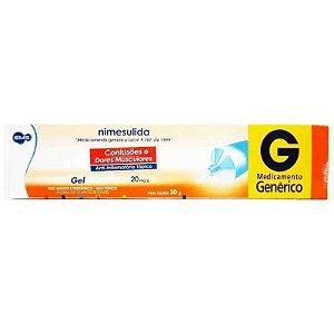 Nimesulida Gel Dermatológico 30g EMS Genérico