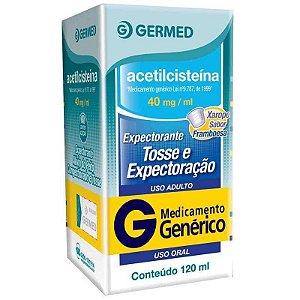 Acetilcisteína 40mg Xarope 120ml Germed Genérico