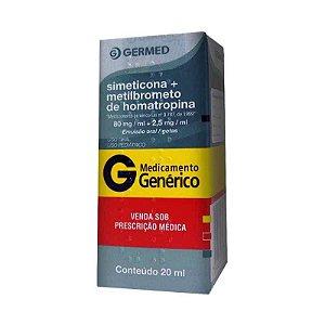 Simeticona+Metilbrometo de Homatropina Gotas 20ml Germed Genérico