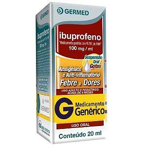 Ibuprofeno 100mg Gotas 20ml Germed Genérico