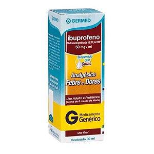 Ibuprofeno 50mg Gotas 30ml Germed Genérico