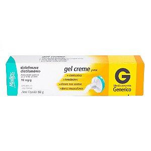 Diclofenaco Dietilamônio Gel Creme 60g Medley Genérico
