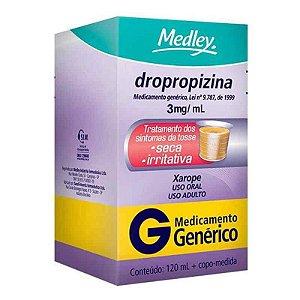 Dropropizina Xarope Adulto 120ml Medley Genérico