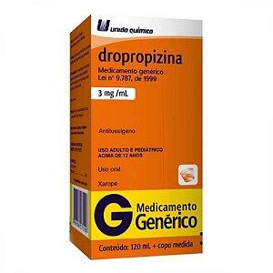Dropropizina 3mg Xarope 120ml União Química Genérico