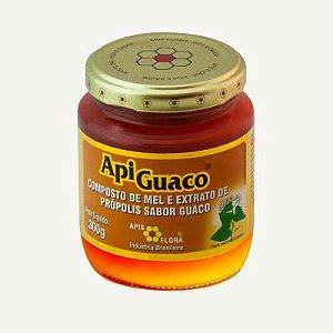 Apiguaco Apis Flora Mel e Extrato de Própolis Sabor Guaco 300g