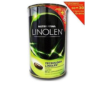 Linolen 1000mg 90 Cápsulas Gel Grátis 30 Cápsulas Gel