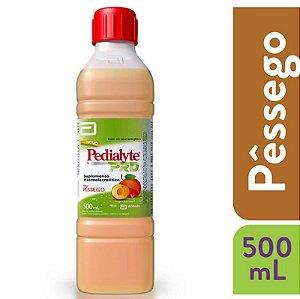 Pedialyte Pro Sabor Pêssego 500ml