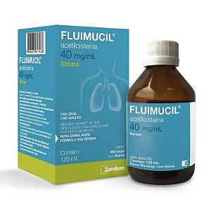 Fluimucil 40mg Xarope Adulto 120ml