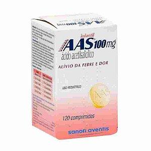 AAS Infantil 100mg 120 Comprimidos