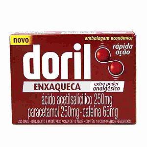 Doril Enxaqueca 18 Comprimidos Revestidos