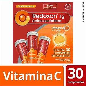 Redoxon 1g Laranja 30 Comprimidos Efervescentes