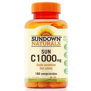 Vitamina C 1000mg Pure 180 Comprimidos Revestidos Sundown