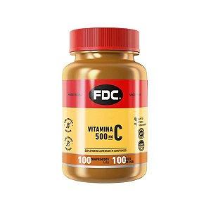 Vitamina C 500mg Film Coated 100 Comprimidos FDC