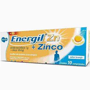 Energil C 1g + Zinco 10mg 10 Comprimidos Efervecentes