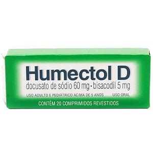 Humectol D 20 Comprimidos