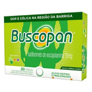 Buscopan 10mg 20 Comprimidos