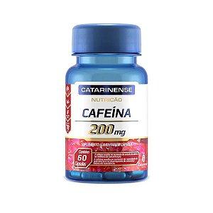 Cafeína 200mg Catarinense 60 Cápsulas