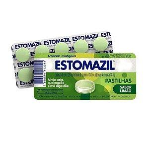 Estomazil Limão 10 Comprimidos Mastigáveis