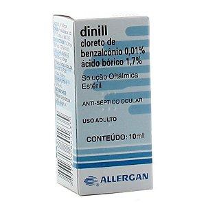 Dinnill Solução Oftálmica 10ml