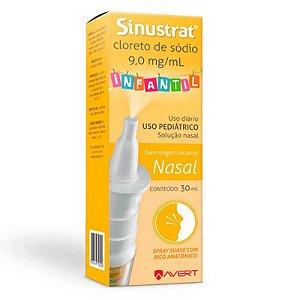 Sinustrat Infantil Solução Nasal Spray 30ml